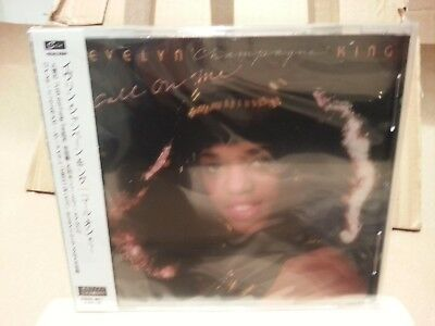Evelyn King - Call on me  (EXPANDED  CD - JAPANESE EXPORT SEALED)...£3.50