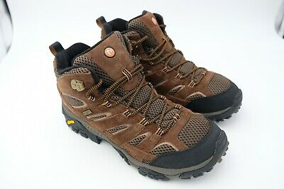bfd347f769a MERRELL MEN'S MOAB 2 Mid Waterproof Hiking Boot Castle Size US 9.5 ...