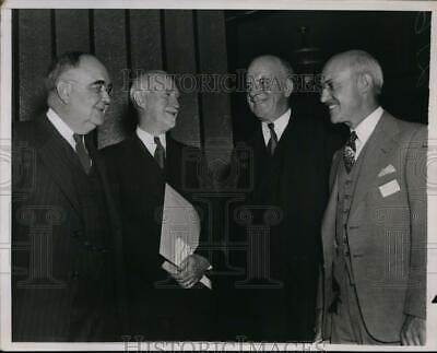 1938 Press Photo National Association of Housing Officials Meeting in Washington
