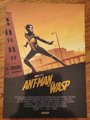 Ant Man and the Wasp Odeon A4 poster - Marvel (2018) - The Wasp