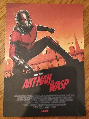 Marvel Ant-Man And The Wasp ODEON A4 Sized Poster