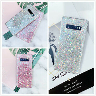 Bling Full Glitter Cute Slim Fit Phone Case Cover For Galaxy S10 S10E 10 Plus