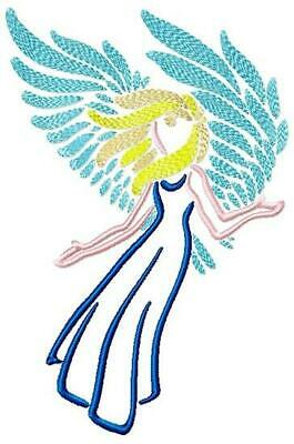 BEAUTIFUL ANGELS  10 MACHINE EMBROIDERY DESIGNS CD or USB