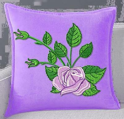BEAUTIFUL ROSES 10 MACHINE EMBROIDERY DESIGNS CD or USB