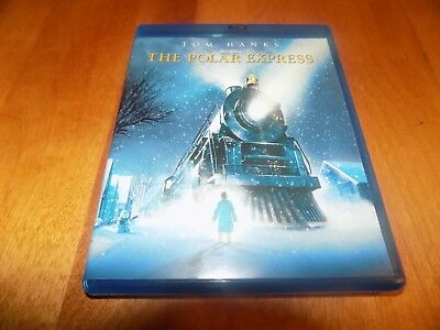 THE POLAR EXPRESS Children's Animated Christmas Holiday Classic BLU-RAY DISC