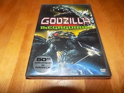 GODZILLA VS MEGAGUIRUS Sci-Fi Japanese Monster Classic Widescreen DVD SEALED NEW