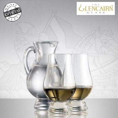 The Glencairn Officiel Cristal Whisky Verres Verre & Pichet Eau Dégustation Nez