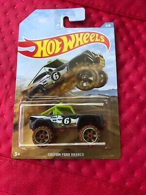 'Spanking' NEW HOT WHEELS CUSTOM  FORD BRONCO 2019 OFF ROAD TRUCK SERIES ! RARE