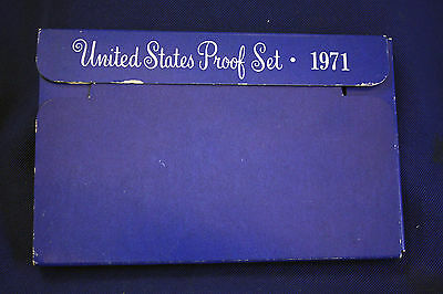 1971-s  U.S.Proof set. Genuine. complete and original as issued by US Mint.