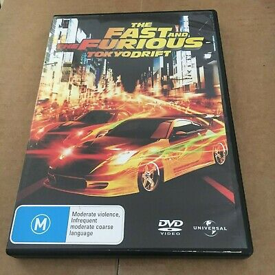 The Fast And Furious Dvd. Tokyo Drift. Region 2/4/5