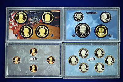 2009-s U.S. 18 Coin Proof Set. Complete and Original in BLUE  mint paper box