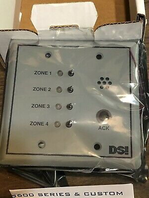 DSI ES613 - 4 Zone Annunciator Designed Security **NEW IN BOX**