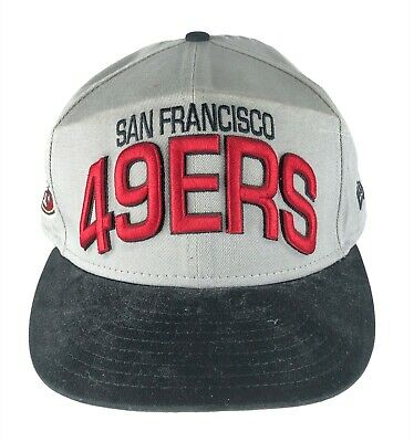 7e496465 San Francisco 49ers Ball Cap Hat Embroidered 9Fifty New Era NFL Snapback NEW