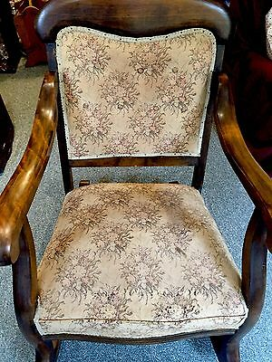 Mahogany Rocker Rocking Antique Chair