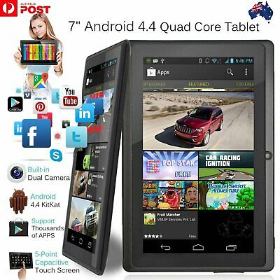 7 Inch Android4.4 Quad Core Dual Camera Tablet 8GB Bluetooth Wifi Tablet Gift C9