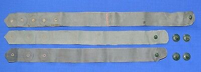 Russian USSR Army Rubberized STRAPS for NUCLEAR & CHEMICAL Clothing