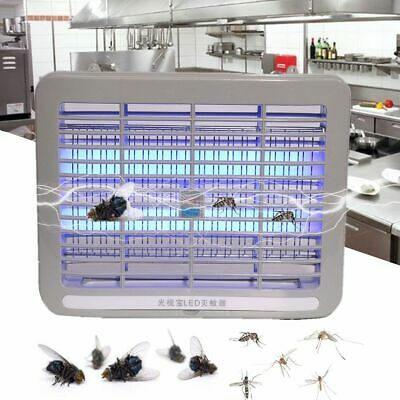LED Insect Killer Electric UV Fly Light Mosquito Bug Pest Zapper Catcher Trap UK