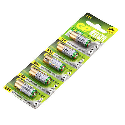 5pcs/Pack GP 23AE 21/23 A23 23A 23GA MN21 12v alkaline battery Single battery