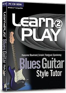 Learn 2 Play: Blues Guitar Style Tutor (PC) von... | Software | Zustand sehr gut