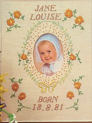 Twilley's Needlecraft Baby Sampler - Printed Linen for Embroidery