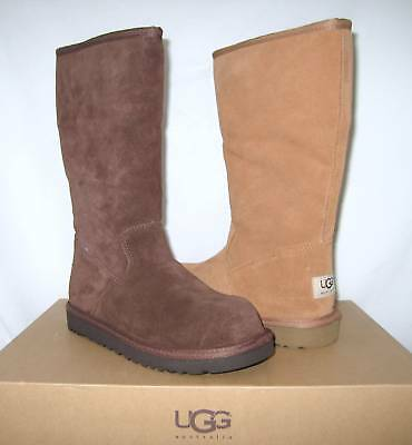 UGG Australia Sunshine Youth Boots Chestnut Chocolate 1 2 UK 13 1