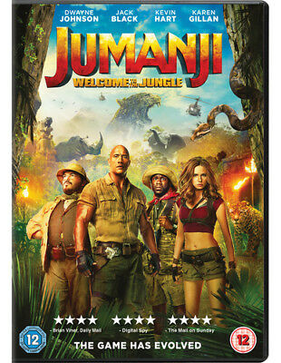 Jumanji: Welcome to the Jungle DVD