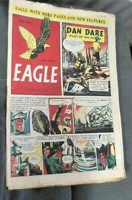 EAGLE # 18 Volume 1 Comic 11th August 1950