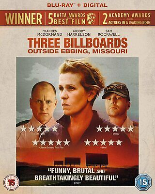 Three Billboards Outside Ebbing, Missouri (BLU-RAY) (2017)