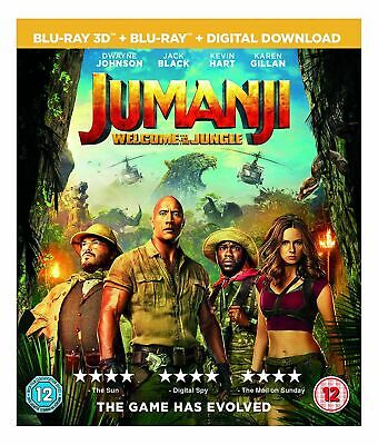 Jumanji: Welcome to the Jungle (BLU-RAY 3D) (2017)