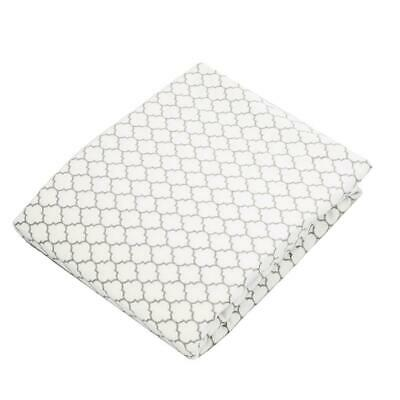 Kushies Change Pad Fitted Sheet - Grey Ornament