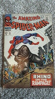 Marvel Comics The Amazing Spider-Man Number 43 - December 1966 - Original