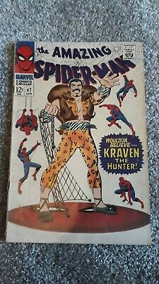 Marvel Comics The Amazing Spider-Man Number 47 - April 1967 - Original