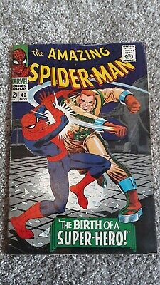 Marvel Comics The Amazing Spider-Man Number 42 - November 1966 - Original