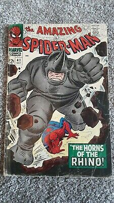 Marvel Comics The Amazing Spider-Man Number 41 - October 1966 - Original