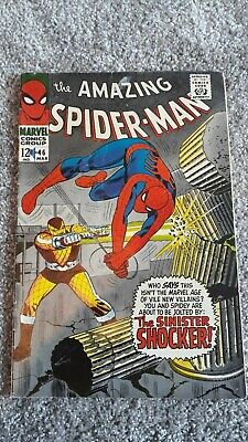 Marvel Comics The Amazing Spider-Man Number 46 - March 1967 - Original