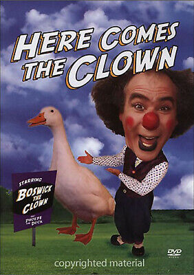 New Here Comes The Clown Dvd - Starring Boswick The Clown & Phoebe The Duck