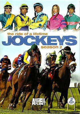 New Jockeys Season 2 Dvd Set -The Ride Of A Lifetime From Animal Planet - 2 Disc