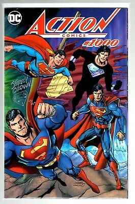 Superman Action Comics #1000 Variant Signed Remarked Jerry Ordway 120 Made W/Coa