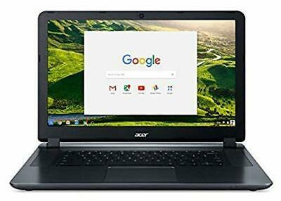 "Acer Chromebook 15.6"" Laptop Intel Celeron 4GB 16GB Chrome - Black"