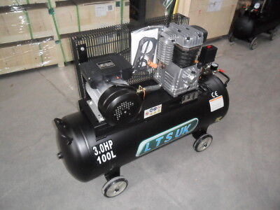 AIR COMPRESSOR 100 LTR NEW  240 v 3HP incs 2 year warranty