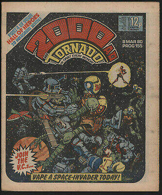 2000 Ad 155. Robo Hunter By Ian Gibson. Original Owner Copy