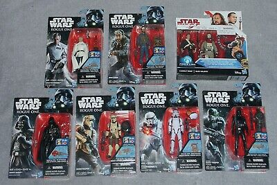 "Star Wars Rogue One 3.75"" Action Figure LOT - Scarif Stormtrooper, Bohdi Rook ++"
