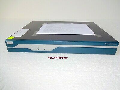CISCO 1841 ROUTER 2x FE 2x WAN 128/32MB 3DES AES VPN - EUR