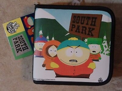 South Park 24 CD Holder 1998 MINT Comedy Central New With Tags NWT 2004