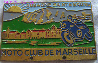 Bg8591 - Insigne Badge Moto Club De Marseille