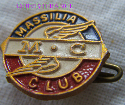 Bg8774 - Insigne Badge Massilia Moto Club