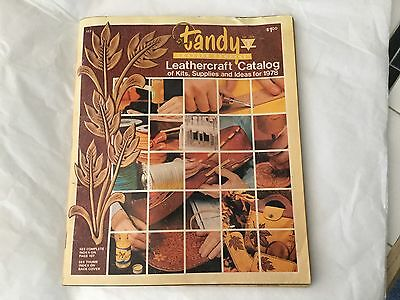 Vintage 1978 Tandy Leather Co. Supplies Order Catalog #117 Belts Purses Tools