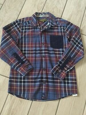 Long Sleeve Ted Baker boys check shirt Age 8 Years