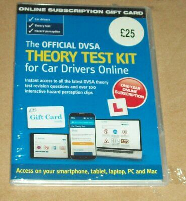 Official DVSA Theory Test Kit for Car Drivers Online - Sealed