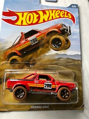 'Spanking' NEW HOT WHEELS SUBARU BRAT 2019 OFF ROAD TRUCK SERIES